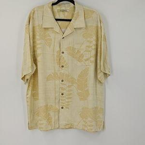 Men's TOMMY BAHAMA Silk Button Down Hawaiian Shirt